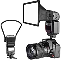 Neewer Camera Speedlite Flash Softbox and Reflector Diffuser Kit for Canon Nikon and Other DSLR Cameras Flashes, Neewer…