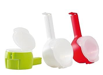 Bolsa grapas con boquilla y aroma de clip/cereales Dispensador/Cierre