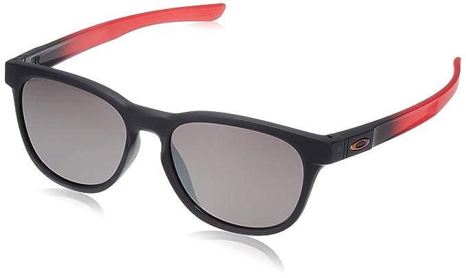 Oakley Stringer, Gafas de sol para Hombre, Negro 55