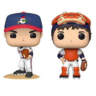 Funko Movies: POP! Major League Collectors Set - Ricky Vaugh, Jake Taylor: Toys & Games