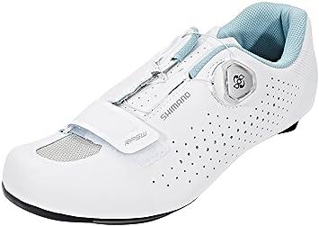 SHIMANO SHRP5PC410WW00 - Zapatillas ciclismo, 41, Blanco, Mujer: Amazon.es: Deportes y aire libre