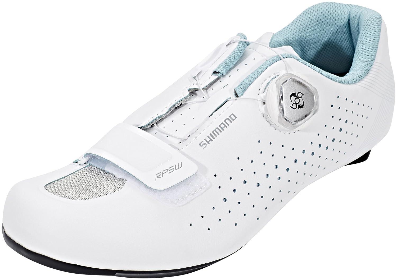 Shimano SH-RP5 - Zapatillas Mujer - Blanco/Turquesa 2018 37