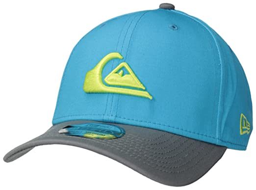 Quiksilver Mens Mountain and Wave Hat, Lagoon, Small/Medium