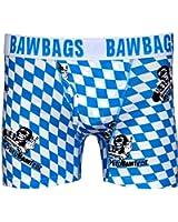 BawBags Oktoberfest Boxers - Blue / White