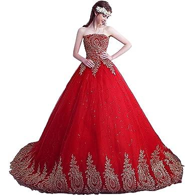 Brautkleider Und Abendkleider | Ivydressing Hochwertig Blumen Tuell Lang Brautkleider