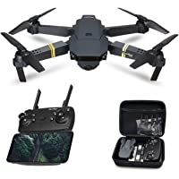 Global Drone GD88 Drones with Camera Live Video 1080P HD, Wi-Fi FPV Quadcopter with Foldable Arms, APP Control, Altitude Hold, One Key Take off/Landing, RC Drone for Beginners with 2 Modular Batteries