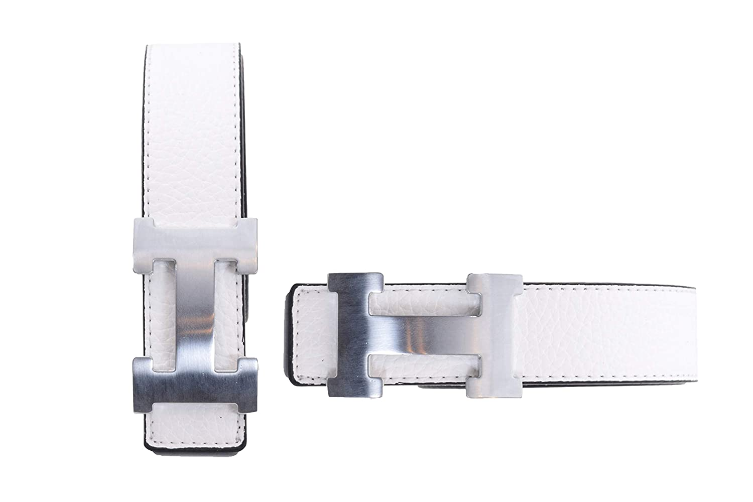a66f09489c3 Men s Belt With Removable Buckle Red with Gold Buckle at Amazon Men s  Clothing store