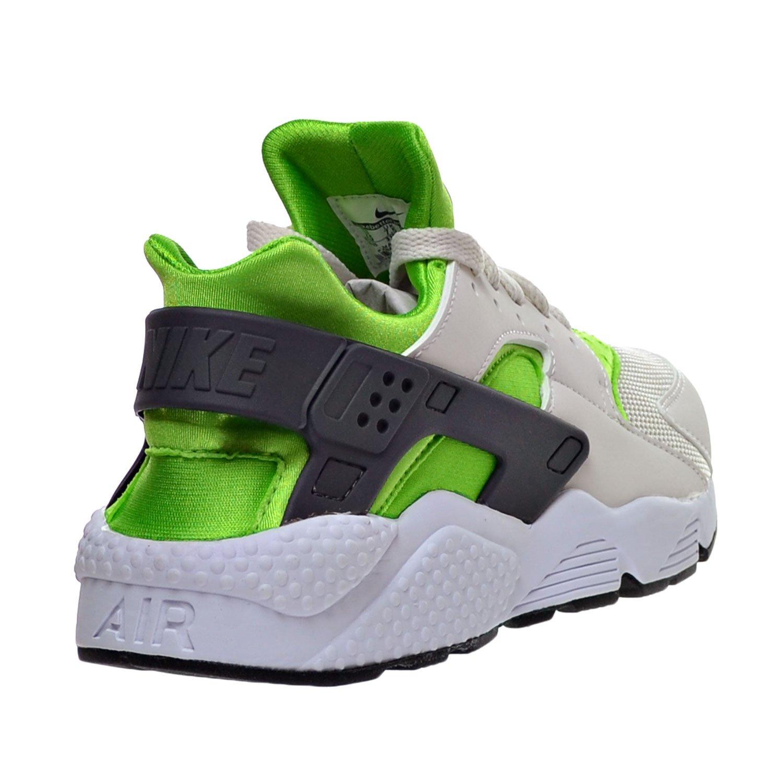 b06241675d5a ... Amazon.com Nike Air Huarache Men s Shoes Action Green Vivid Orange  Phantom White 318429 ...