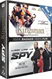 Kingsman + Spy - Coffret 2 Films [Blu-ray]