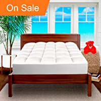 Bare Home Pillow-Top Premium Mattress Pad (King)