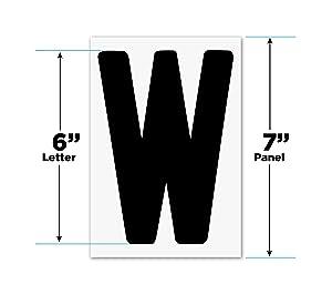 "Changeable Outdoor Sign Letters 6"" Portable Flex Letters 279 Count Helvetica Font 7"" Panel"