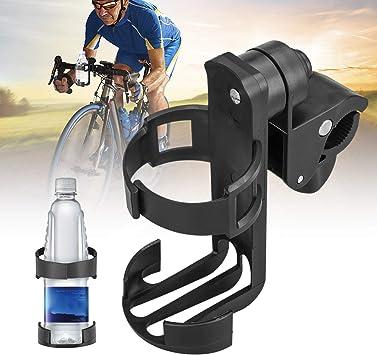 Motorcycle Bicycle Bike Water Cup Holder Drink Bottle Cup Handlebar Mount US