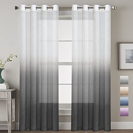 black ruffle with filtering white filmy sheer sheers back extraordinary semi ombre top related drapes hardwood shower laminate purple curtain post curtains window cool tab light and linen