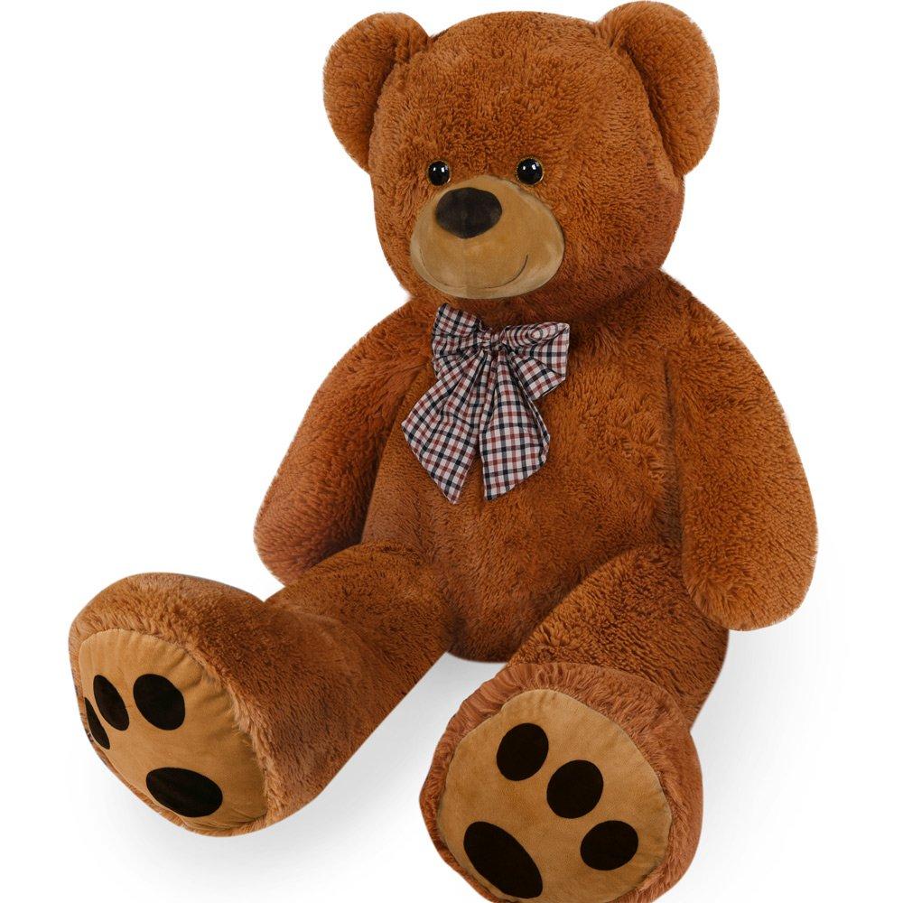 Ours en peluche géant pour enfant TEDDY BEARS douce peluche ourson marron Deuba