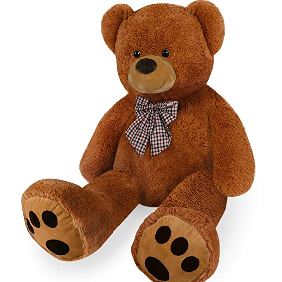 Amazon.com: cucunu Giant Teddy Bear Brown XXL - 55 Inches Stuffed Animal - Plush Toy: Toys & Games