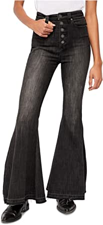 Free People Women's Irreplaceable High Waist Flare Jeans