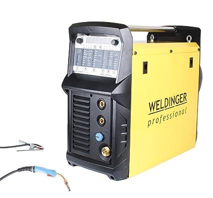 weldinger Mig/Mag de sudor Inverter mew 2700 Pro synergisches dispositivo profesional 270 A Pulso
