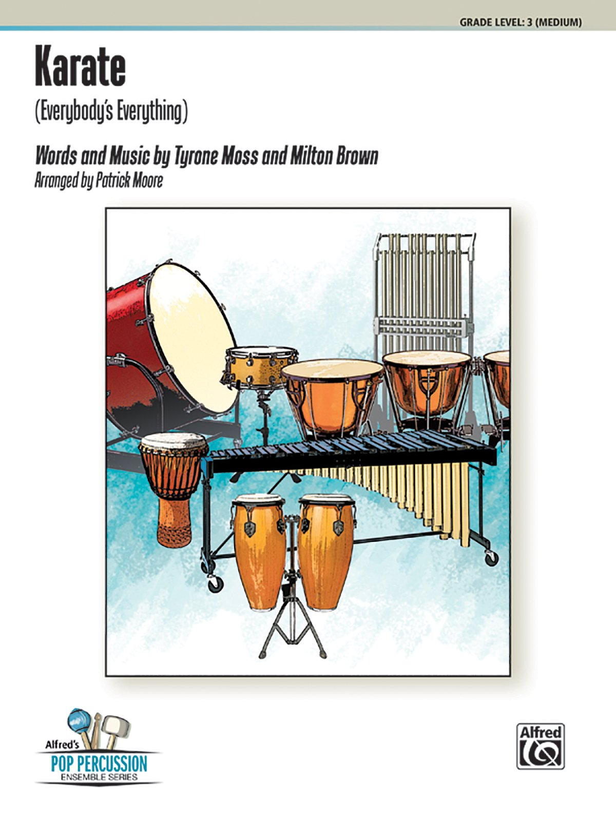 Download Karate (Everybody's Everything): For 11 Players, Conductor Score & Parts (Alfred's Pop Percussion Ensemble Series) pdf epub