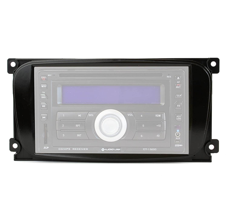 S-Max f/ür Ford Focus DA3 Mondeo BA7 Watermark Vertriebs GmbH /& Co Kuga Blende + Adapter KG Radio-Einbauset C-Max