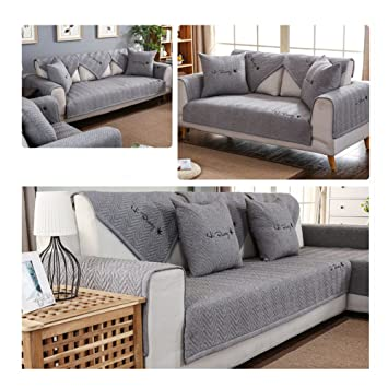 DIGOWPGJRHA 3 Cushion Sofa Slipcover,Pet Couch Cover Sectional Sofa Covers  Sofa Sers For Living