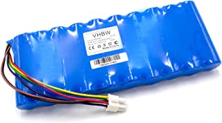 vhbw NiMH Batteria 6000mAh (12V) para tagliaerba Robot Come Husqvarna 535 06 36-01, 535 09 62-01, 5350636-01, 535063601, 5350962-01, 535096201