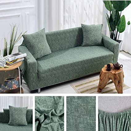 Amazon.com: Vidsdere Stripe Elastic Sofa Cover,Non-Slip Sofa ...