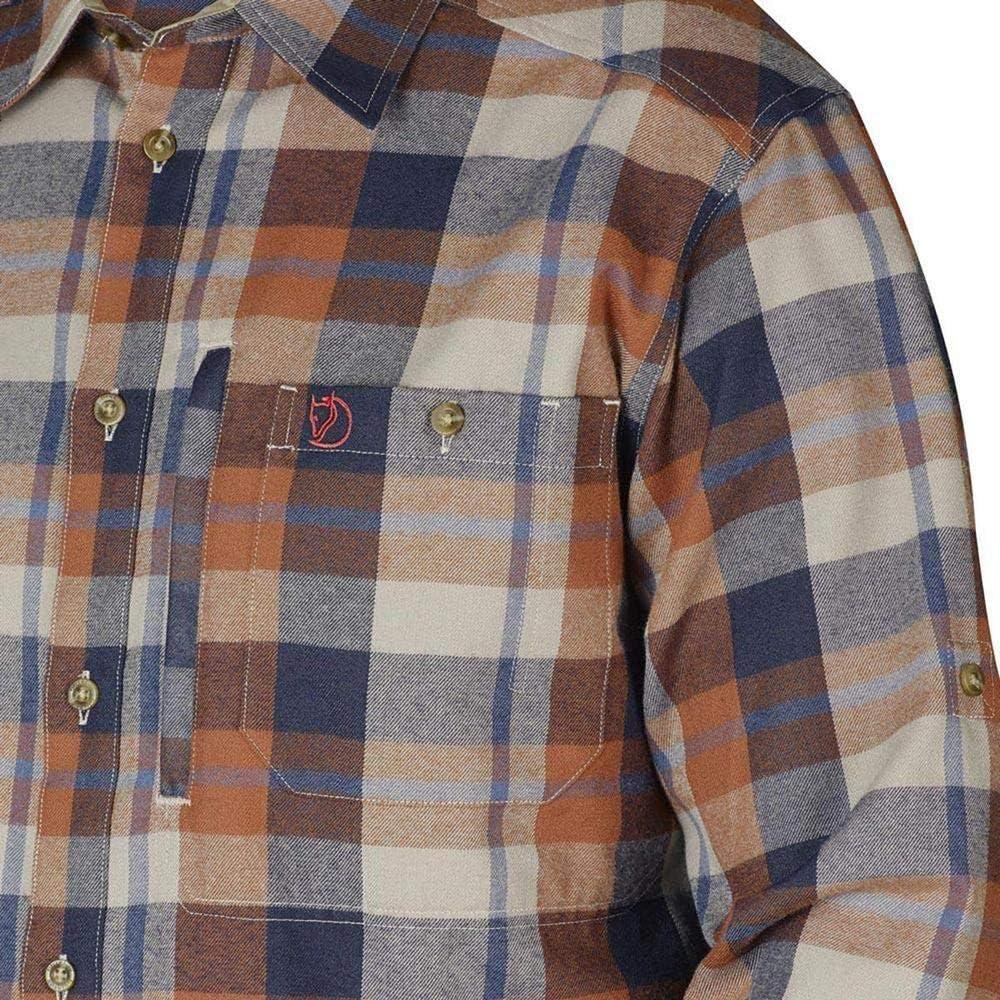 Fj/ällglim Shirt Ls M Camicia Uomo Fj/ällr/även