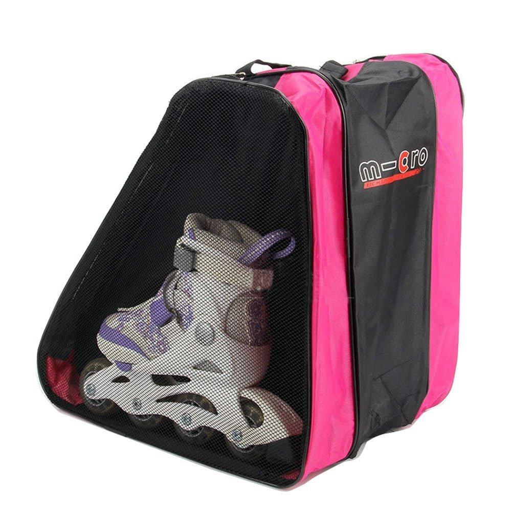 Kangkang@ Triangle Bales/roller Blading/roller Dedicated Skating Bag Pinkthree Layer Triangular Rollerblading Roller Bag Men and Women Children Skates Bales Roller Skating Shoes by Kangkang (Image #2)