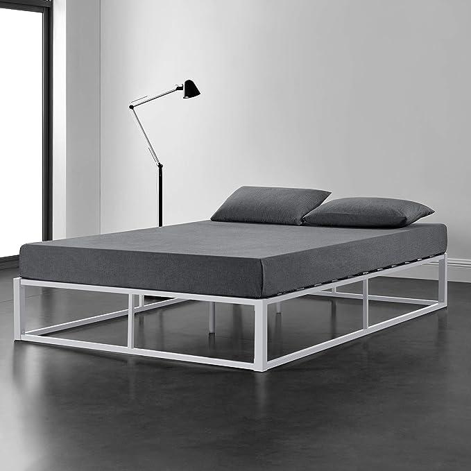 [en.casa] Cama de Metal 140cm x 200cm Estructura Estable ...