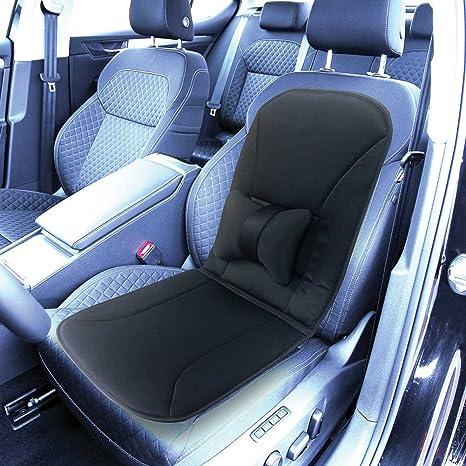 Amazon.com: Hampton Direct Car Seat Cushion - Thin Foam - Removable ...