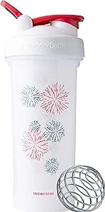 BlenderBottle C04206 Patriotic Pro Series Shaker Bottle, 28-Ounce, Fireworks