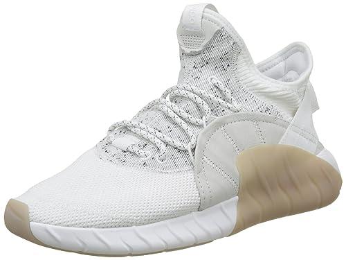 adidas Tubular Rise, Sneaker a Collo Alto Uomo, Bianco Footwear White, 39 1