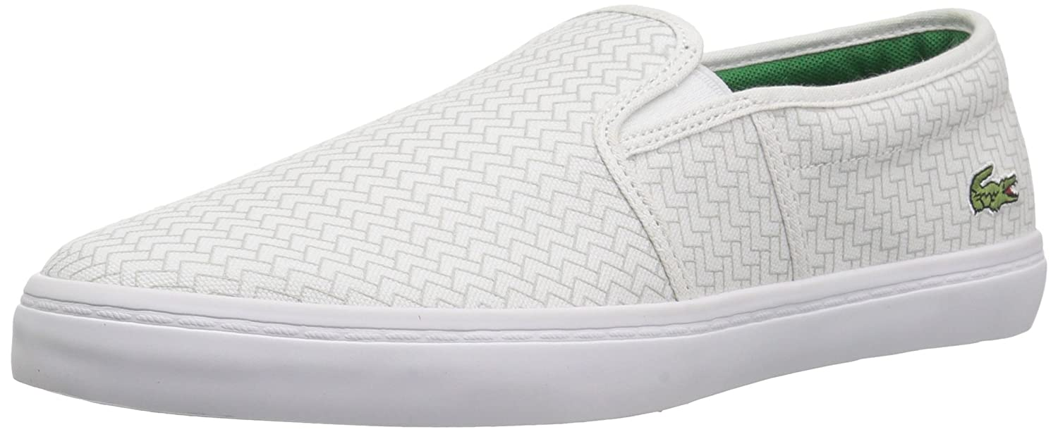 Lacoste Women's Gazon Sneaker B077Y8KKVJ 9.5 B(M) US|White Canvas
