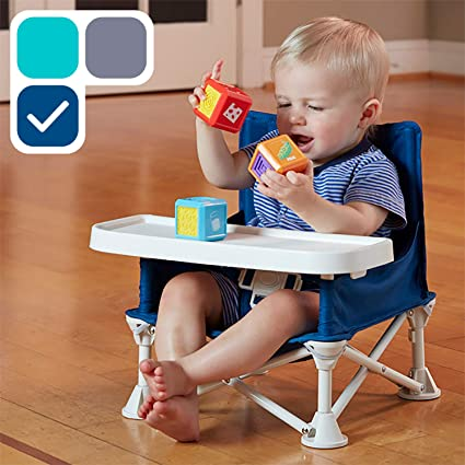 Kids Eating Mess Highchair Baby Chair Junior High Seat Safety Harness Feeding