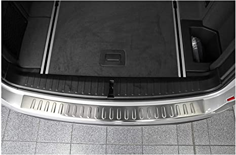 teileplus24 L505S La Protection de seuil de Coffre en Acier V2A Inoxydable avec Profil 3D