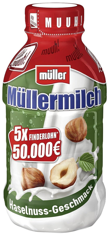 Müller Müllermilch Nocciola-Nuss, 400 ml: Amazon.de: Lebensmittel ...