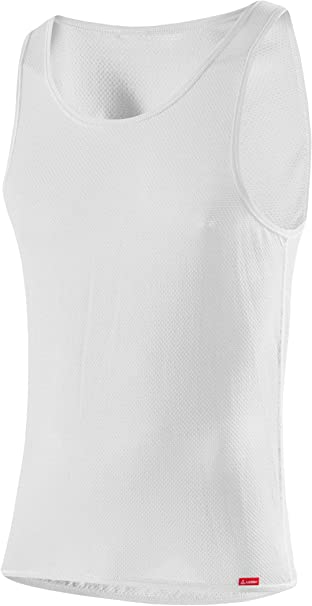 Löffler Singlet Seamless Transtex Light Unterhemd weiß