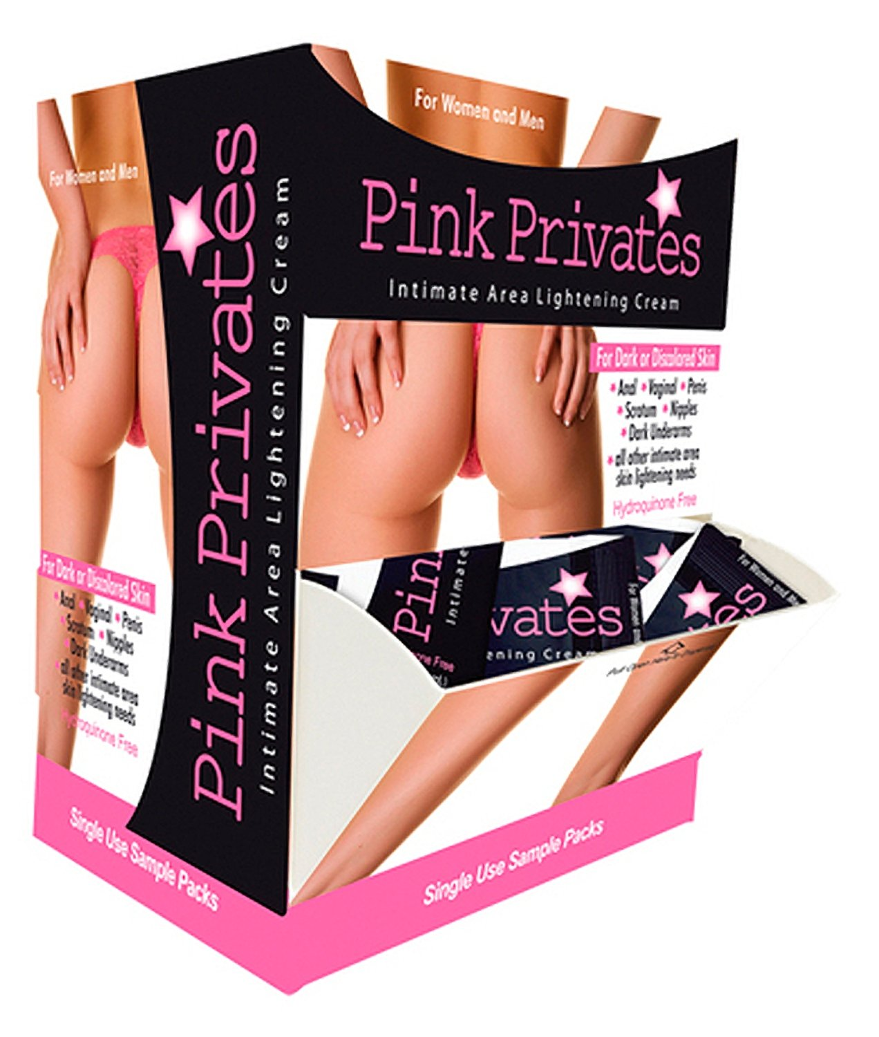 Pink Privates Cream - 50 Piece Display by Sex Toys Online Store
