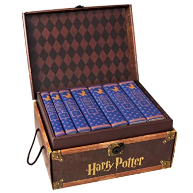 Harry Potter House Trunk Sets with Custom Ravenclaw Dust Jackets