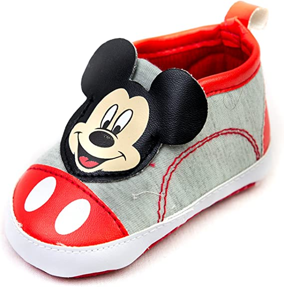 Mickey Mouse Shoe Babies Crib Shoes