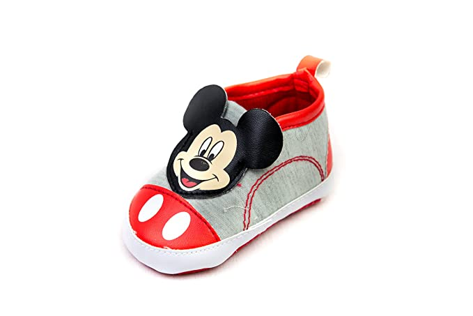de64919ba4e66 Amazon.com: Mickey Mouse Shoe Babies Crib Shoes: Clothing