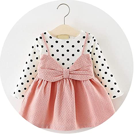 dc7c90e274ea Image Unavailable. Image not available for. Color  Baby Dresses Summer Baby  Girls Clothes Lace ...