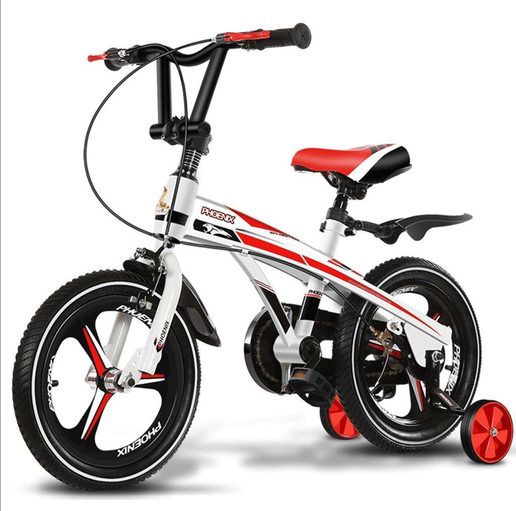 DGF 子供の自転車2-10歳の男性と女性の赤ちゃんの自転車のベビーカーの子供の自転車 (色 : A, サイズ さいず : 16 inches) B07F2WDYCG 16 inches|A A 16 inches