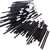 RICISUNG 50x Disposable Lipbrush Lip Gloss Brush Wands Lipstick Gloss Applicators Makeup Tool