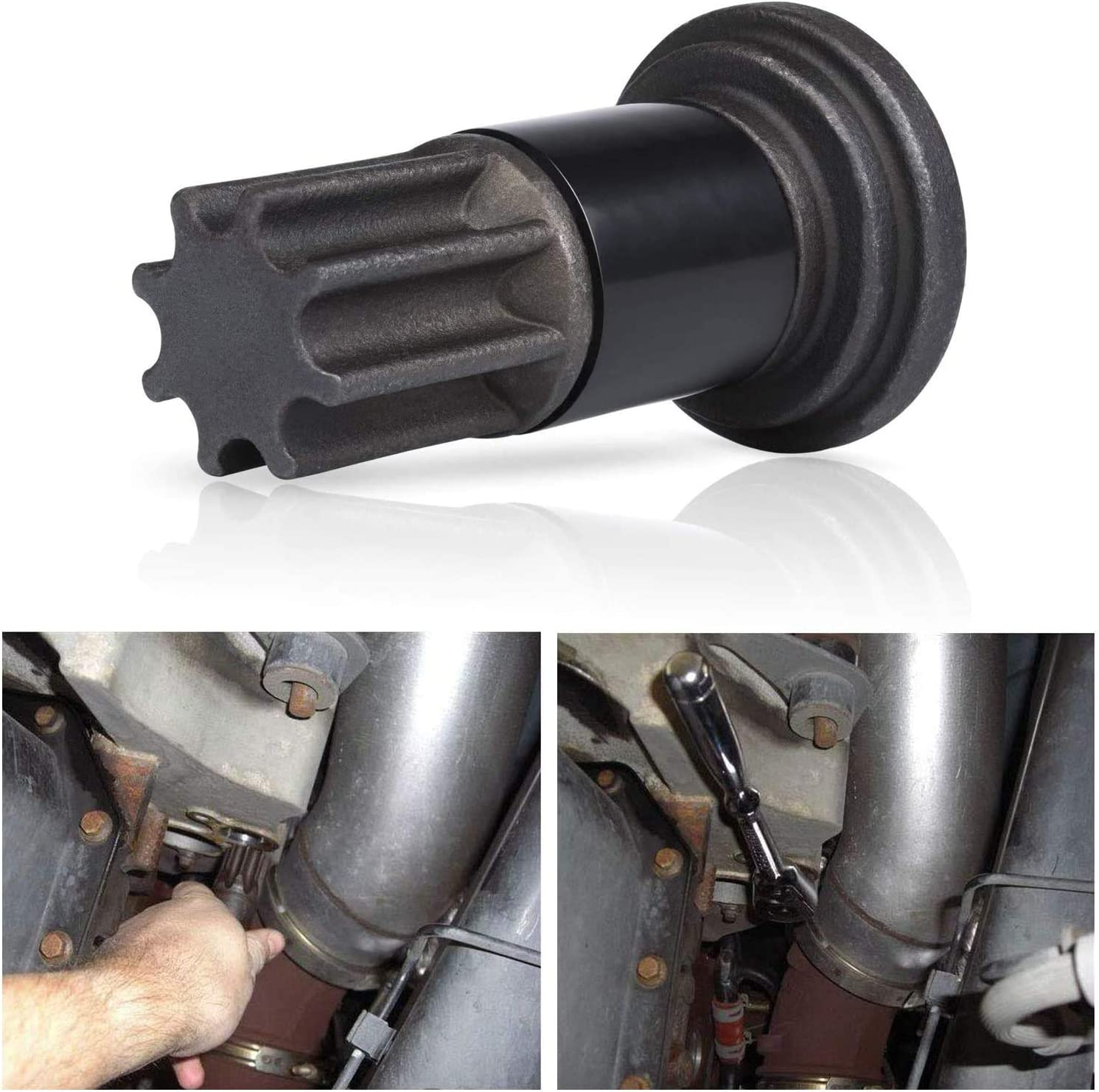 5.9L 6.7L /& 8.3L Diesels Engines Matler for Cummins Engine Barring//Rotating Tool for Cummins B//C Series and Dodge Pickups 3.9L