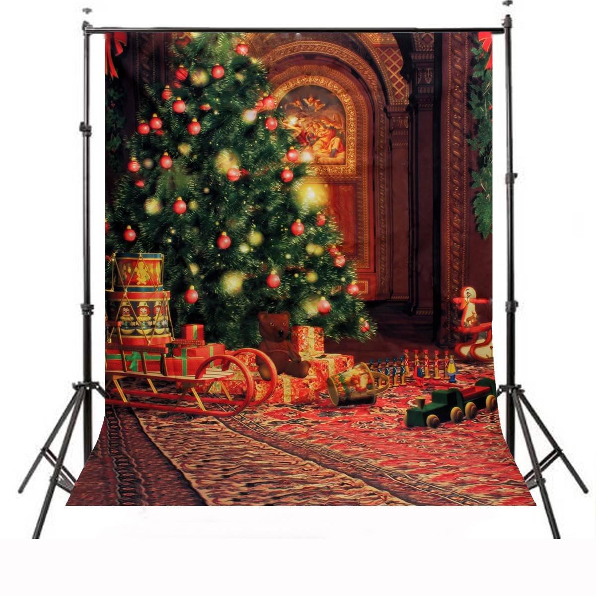 amazon com camtoa 7x5ft christmas pictorial cloth customized