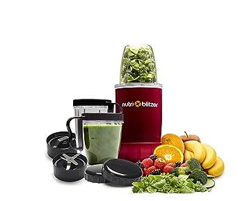 JML Nutri Blitzer - Batidora para smoothies y batidos, con varias piezas, color morado: Amazon.es: Hogar