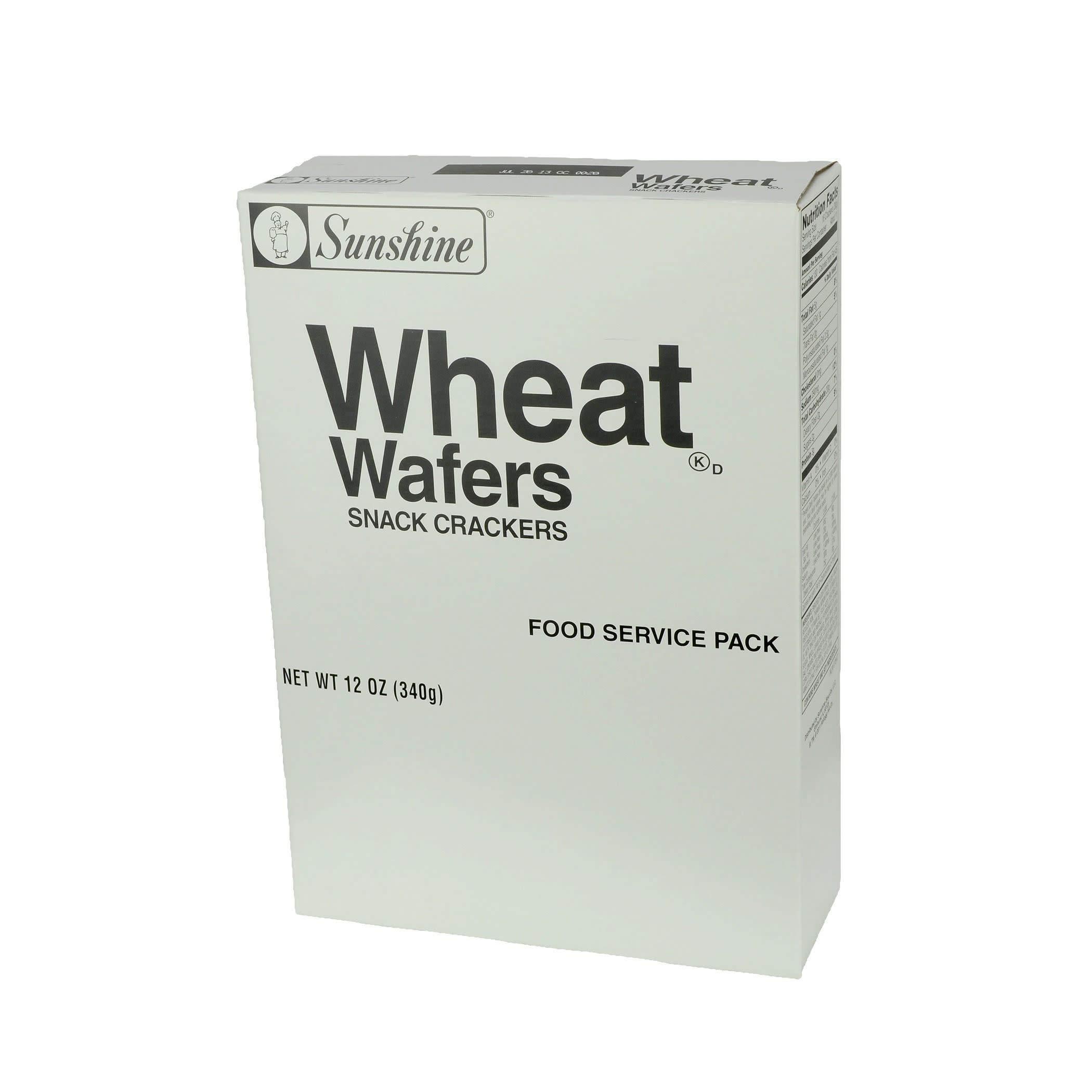 Kellogg's Sunshine Wheat Wafers, 12 Ounce (Pack of 12)