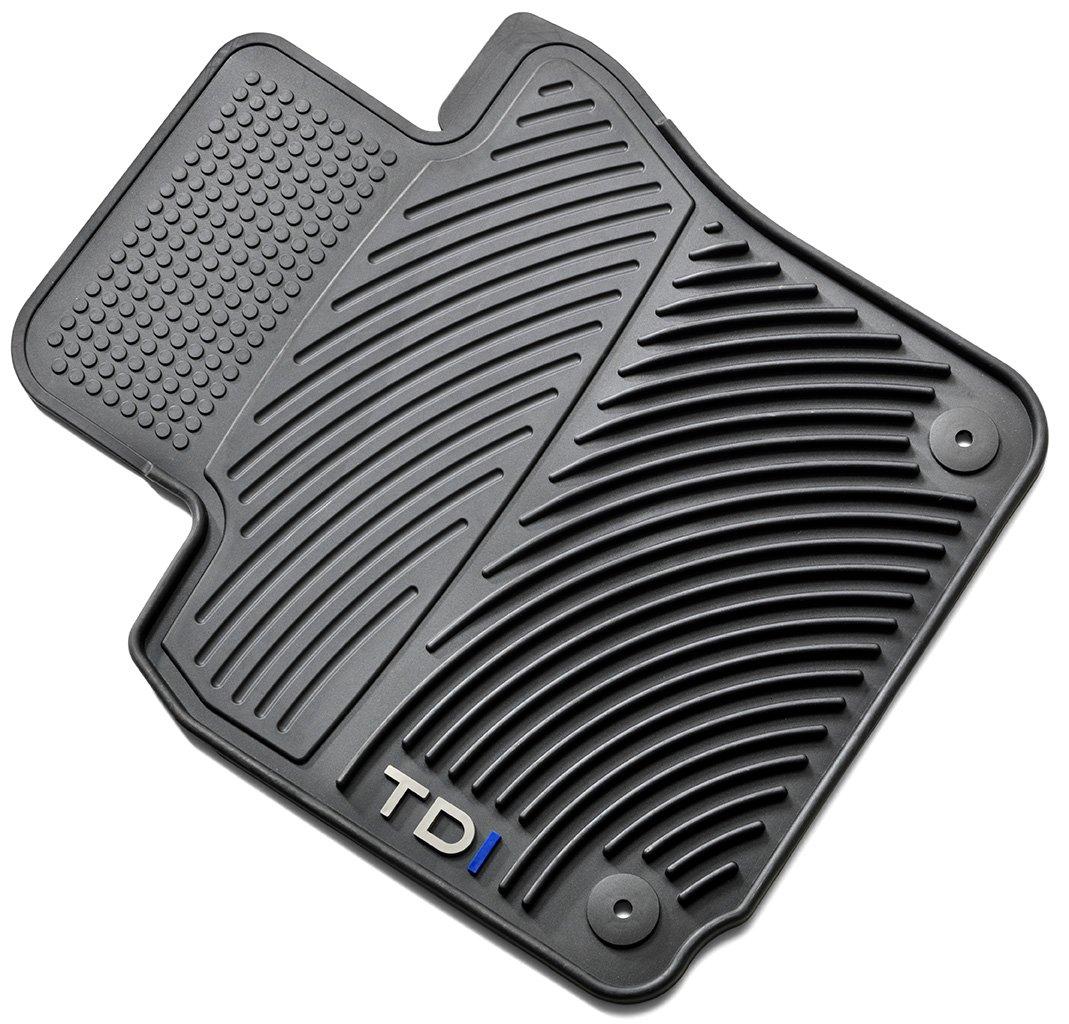 Rubber floor mats vw jetta - Amazon Com Oem Vw Jetta Tdi Monster All Weather Floor Mat Set Automotive