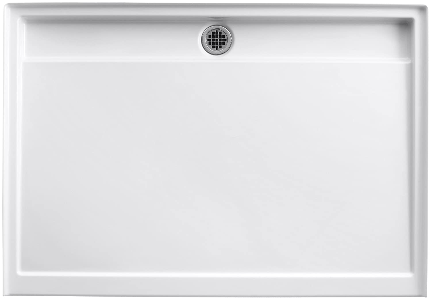 threshold k hand single x and faucetdirect rely shower drain base com kohler white with left